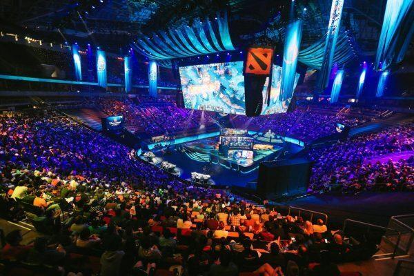 TI7 arena shot