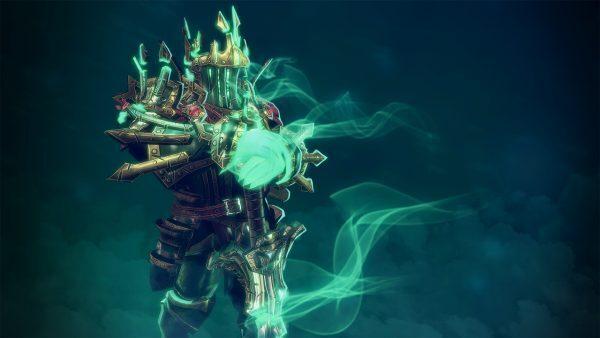 Wraith King Dota 2 carry in-game art
