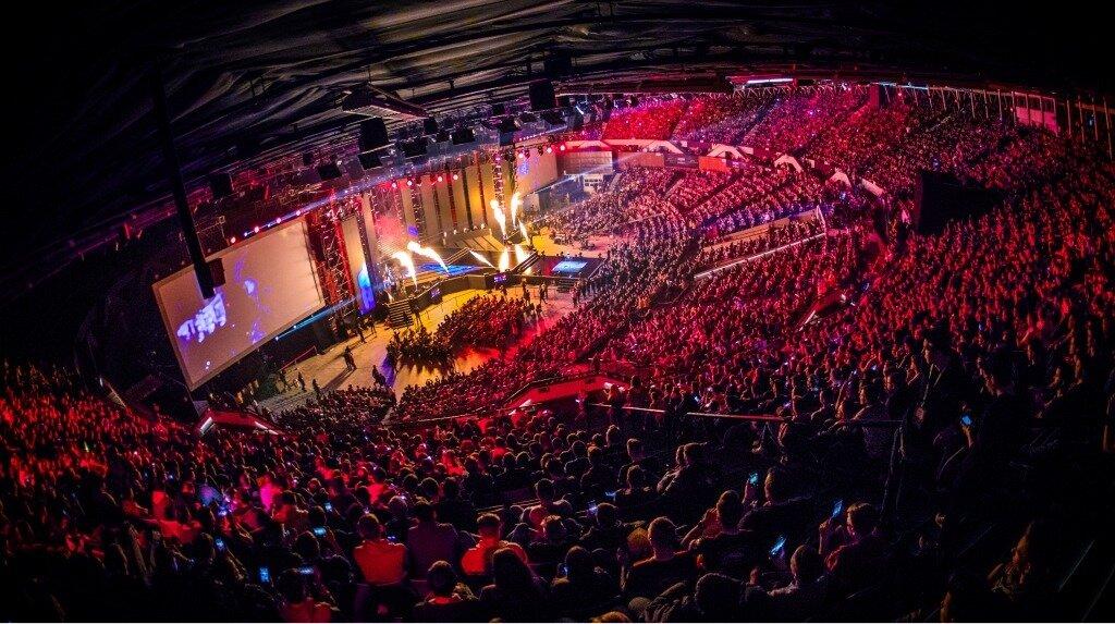 ESL esports crowd
