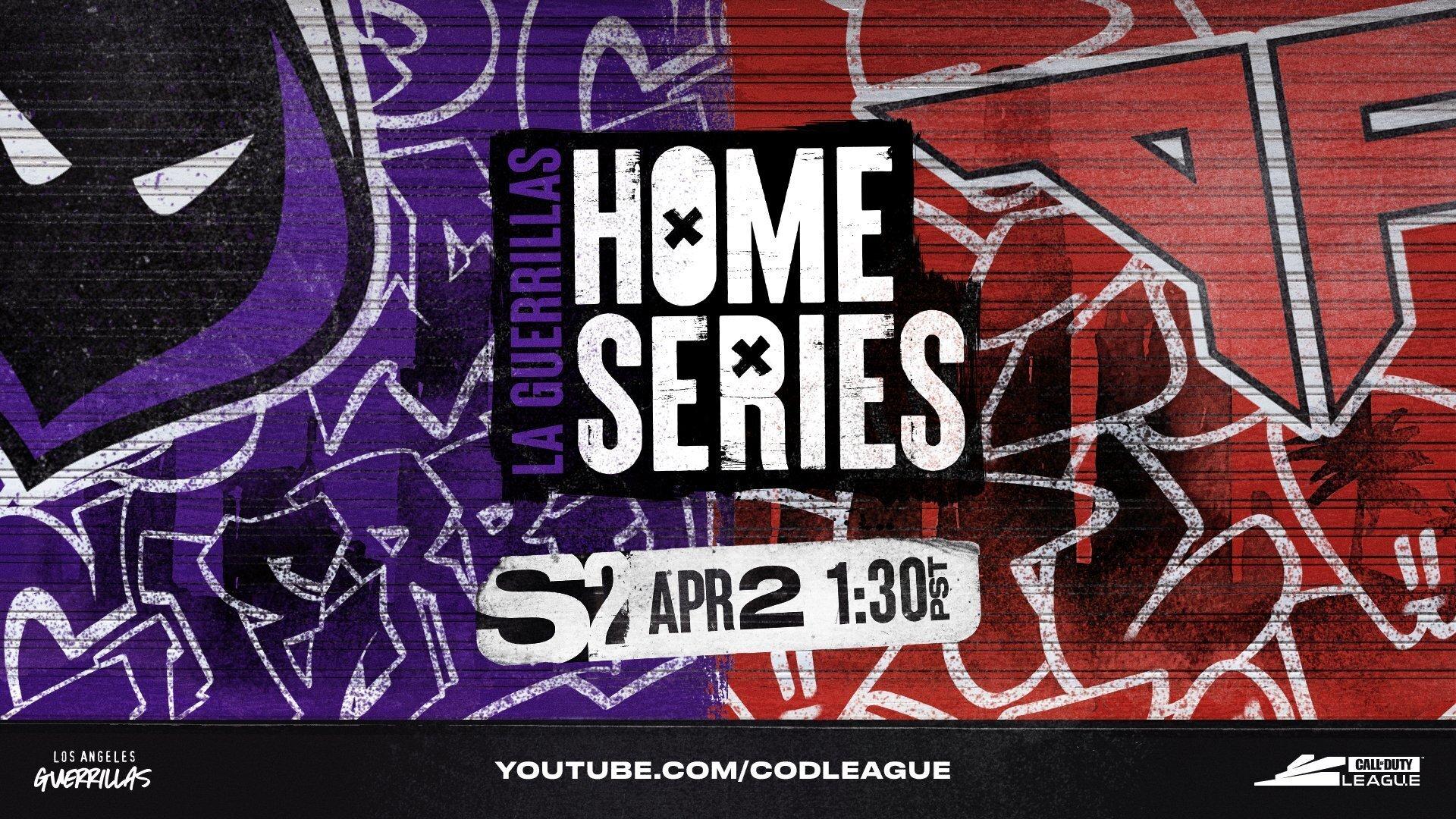 LA Guerrillas Home Series