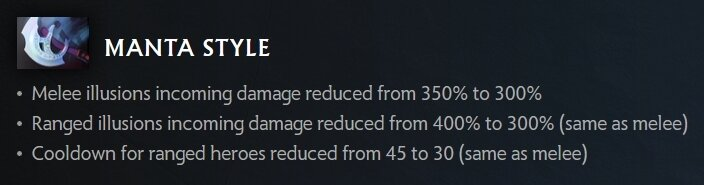 Dota 2 Patch 7.29 Biggest Changes Manta Style