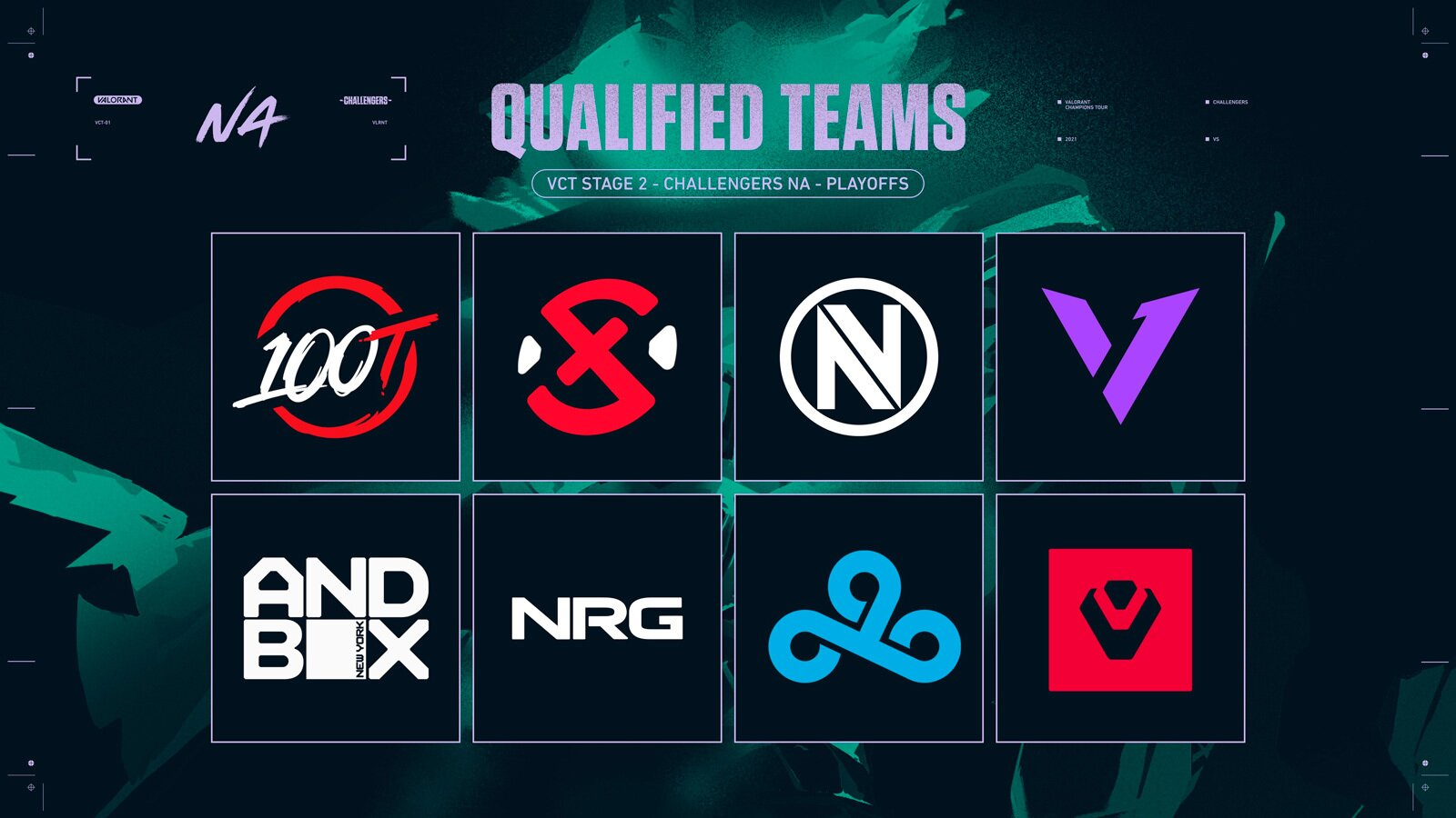 VCT Stage Two NA Challengers teams