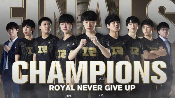 RNG champions