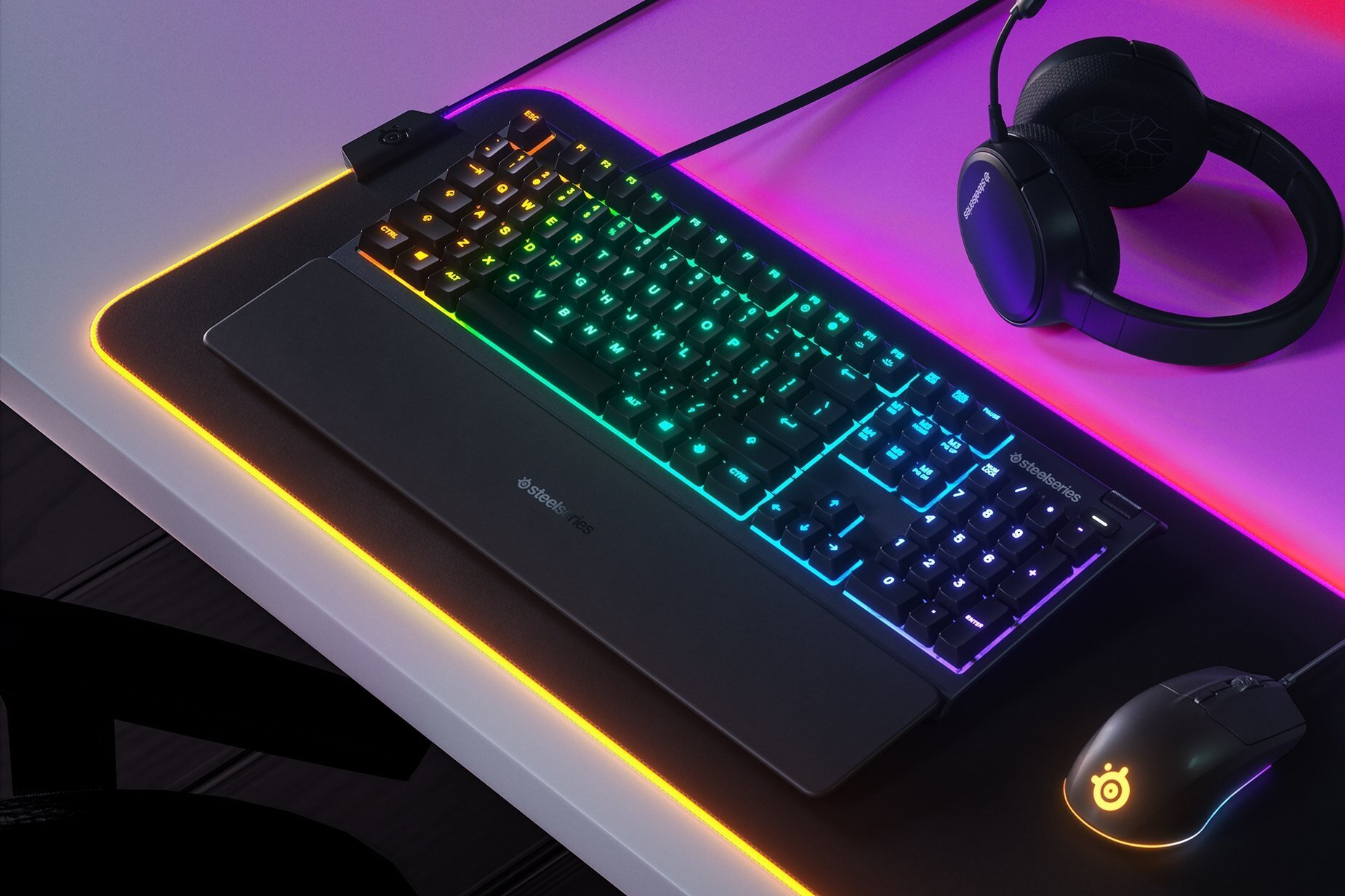 Cover image for SteelSeries Apex 3 Review