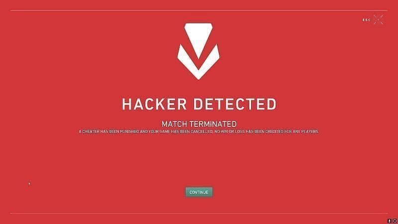 VALORANT hacker