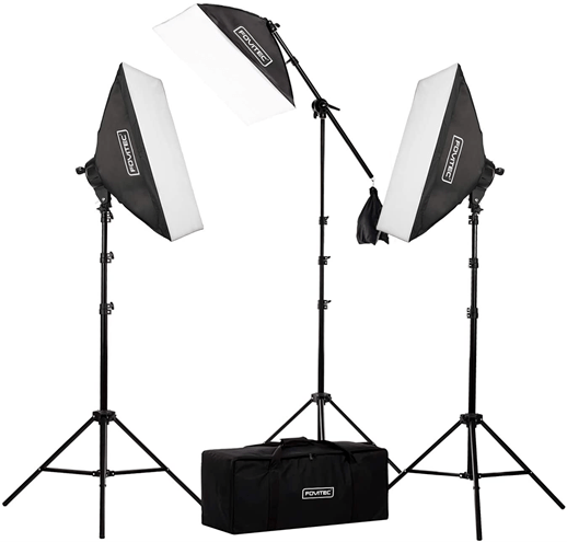 Fovitec Softbox Continuous Lighting Kit