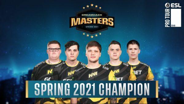 NaVi win DreamHack Masters Spring