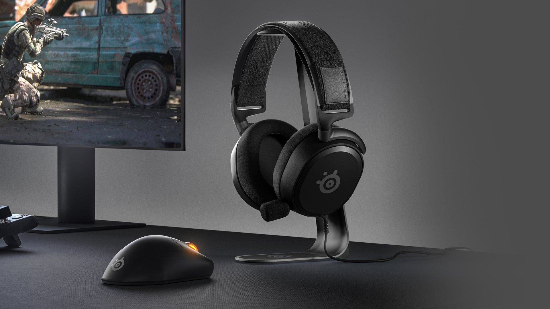 SteelSeries Arctis Prime Headset and Prime Wireless Mouse