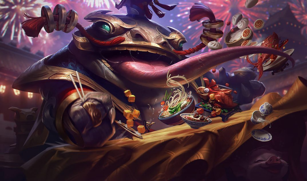 Coin Emperor Tahm Kench skin