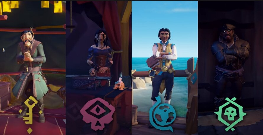 trading companies Sea of Thieves