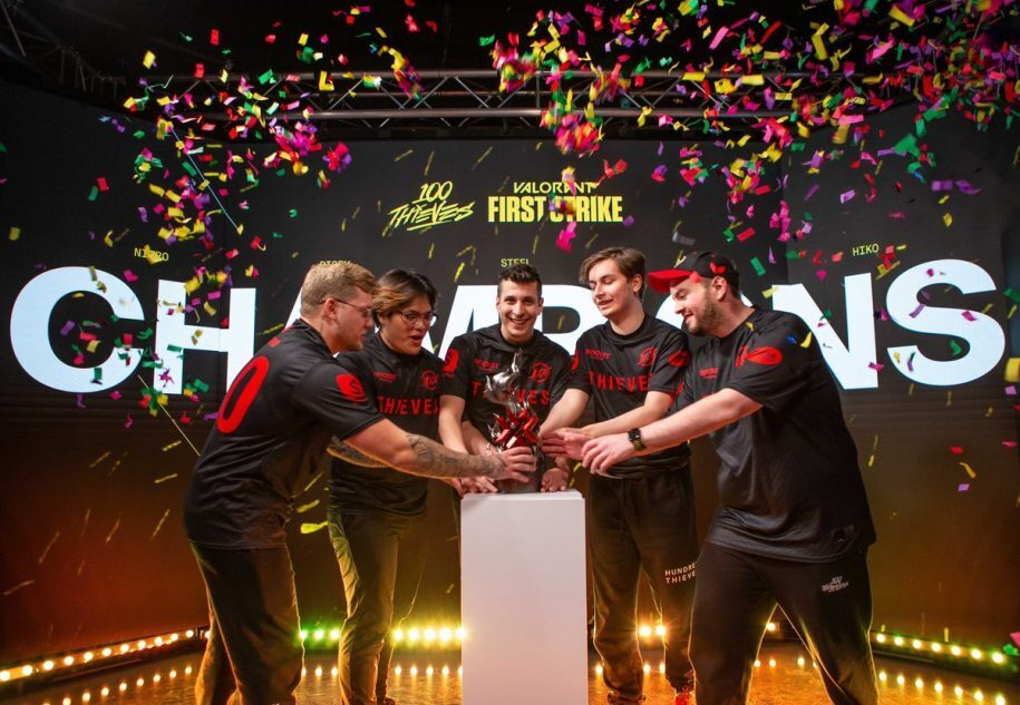 Competitive Valorant 100 Thieves First Strike
