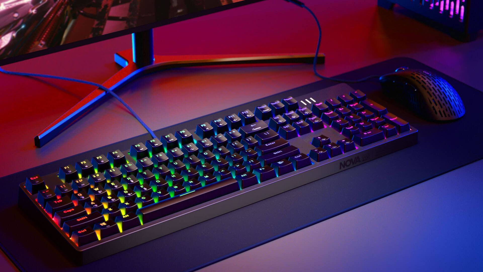Pulsar Nova Optical PRO Gaming Keyboard